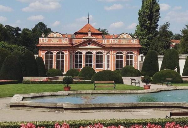 Сады Чернинского дворца открылись в Праге