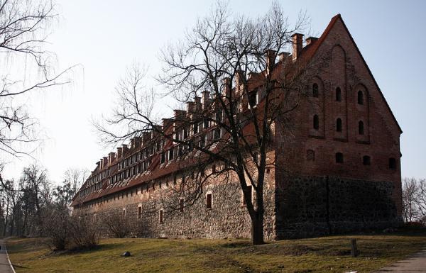 Замок XIV века выставлен на торги в Калининградской области