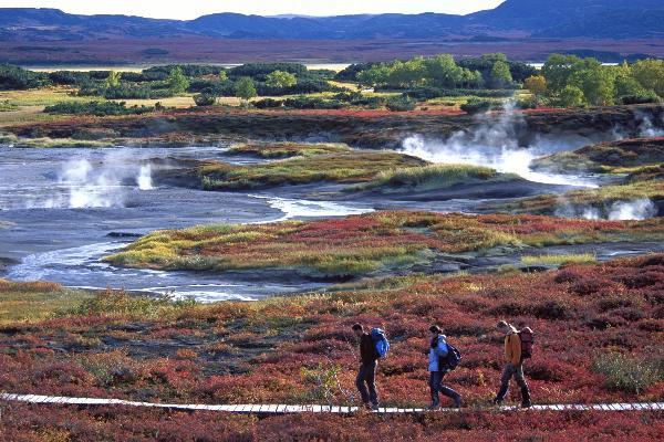 В страну вулканов и гейзеров можно будет добраться пешком