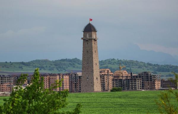 В Магасе благоустроят территорию около самой высокой на Северном Кавказе смотровой башни