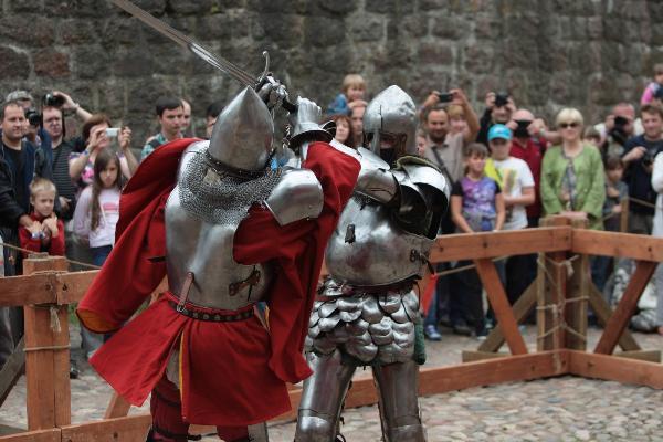 «Турнир Святого Олафа» погрузит Выборг в Средневековье