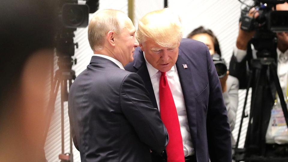 Песков: Переговоры Путина и Трампа по Крыму могут пройти только в одном ключе