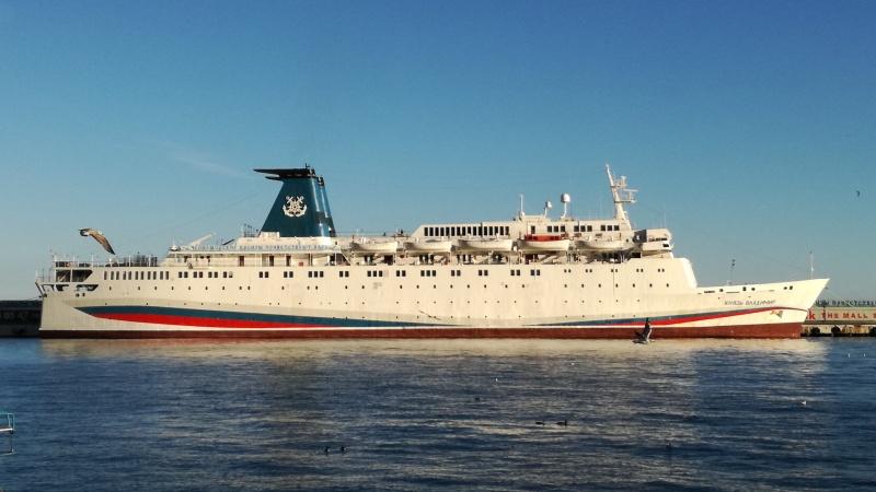 Лайнер «Князь Владимир» поставят на воду в августе