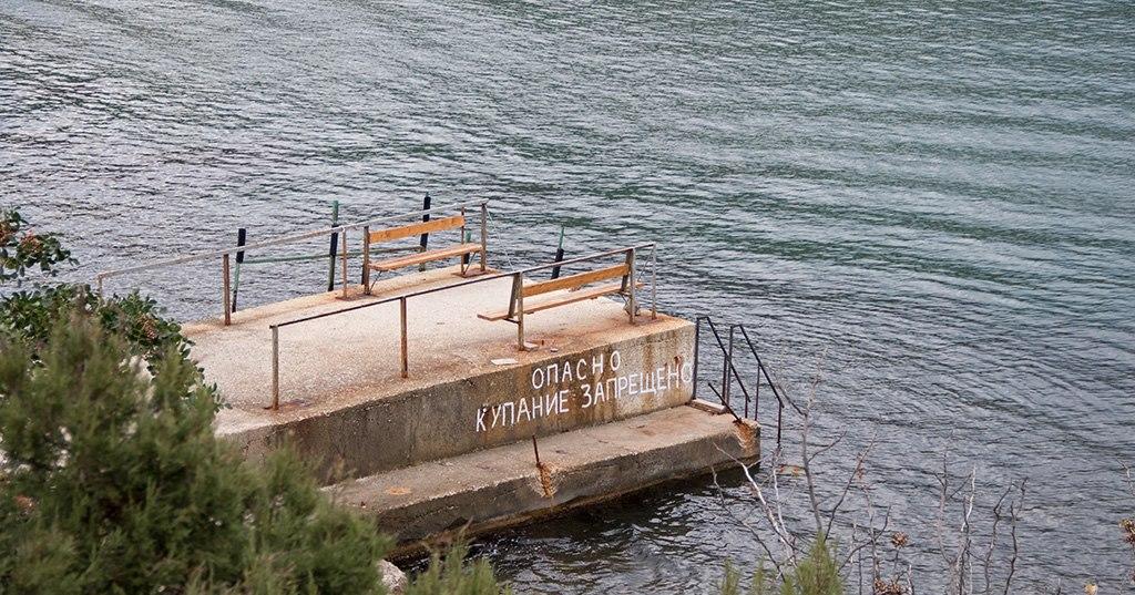 В Крыму остынет море