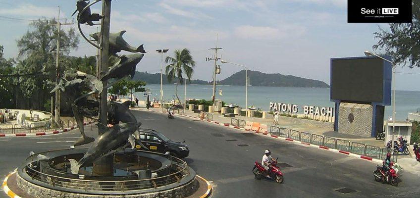 Камеры видеонаблюдения на пляжах Пхукета в Таиланде