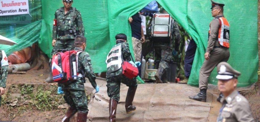 Спасательная операция в пещере Таиланда — день второй