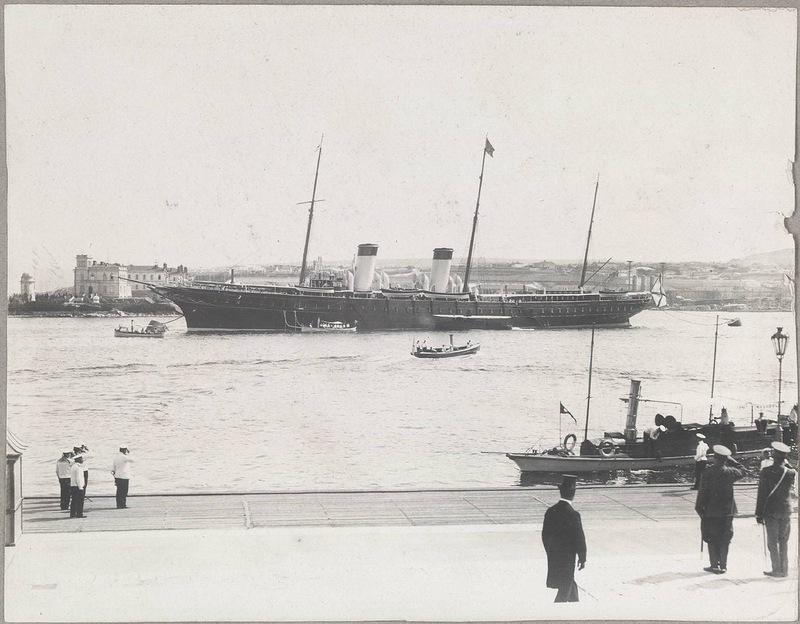 Севастополь. Императорская яхта 'Штандарт'