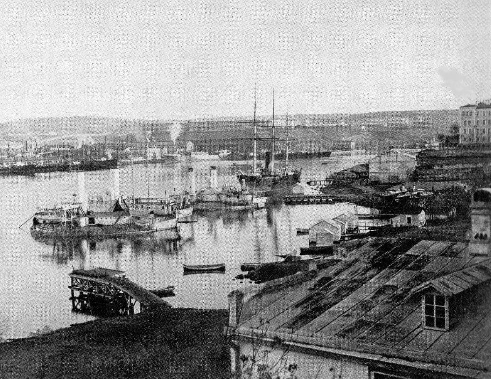 Севастополь. Южная бухта. 1890 год