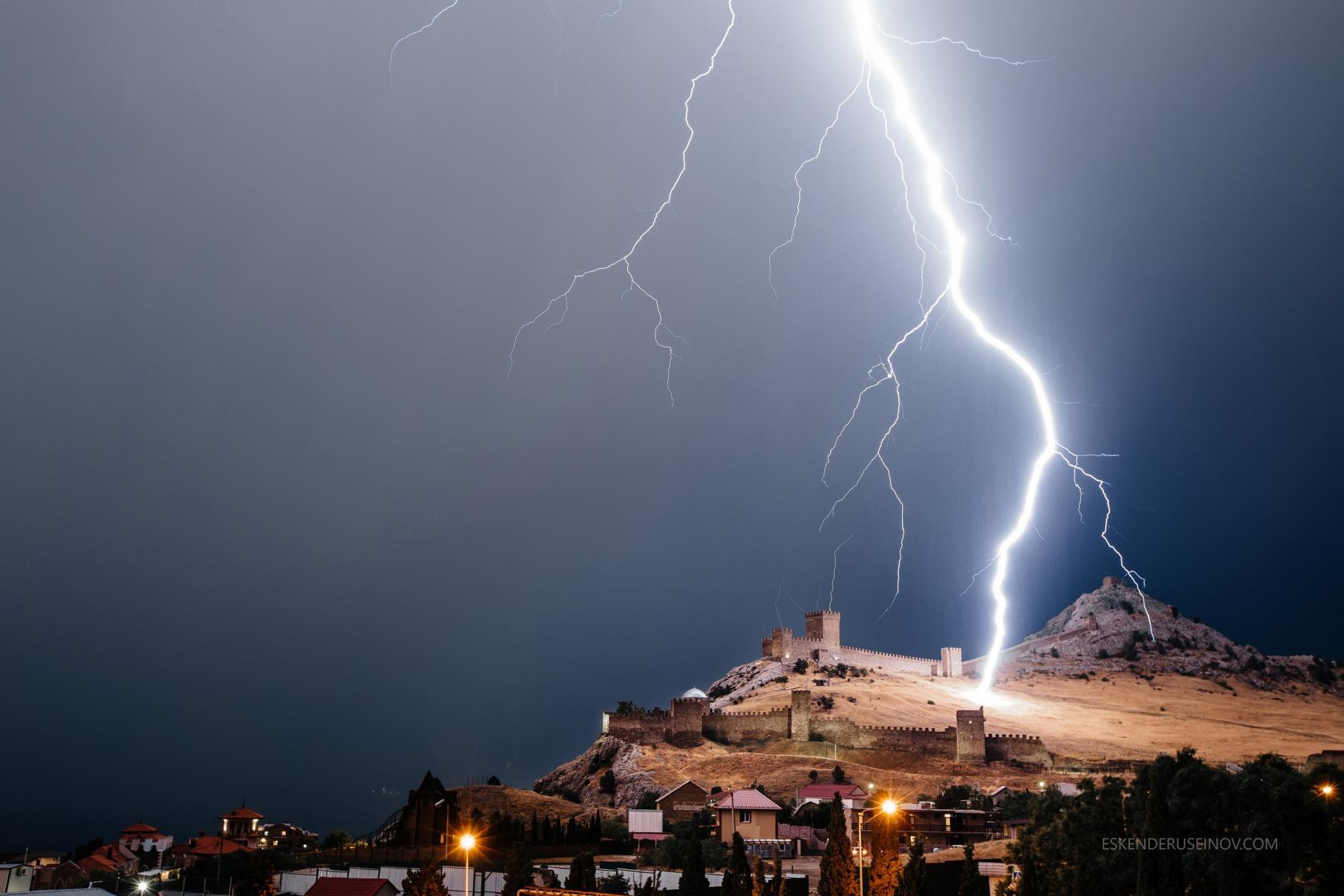 Крымчанин сумел сфотографировать «прибытие Тора»