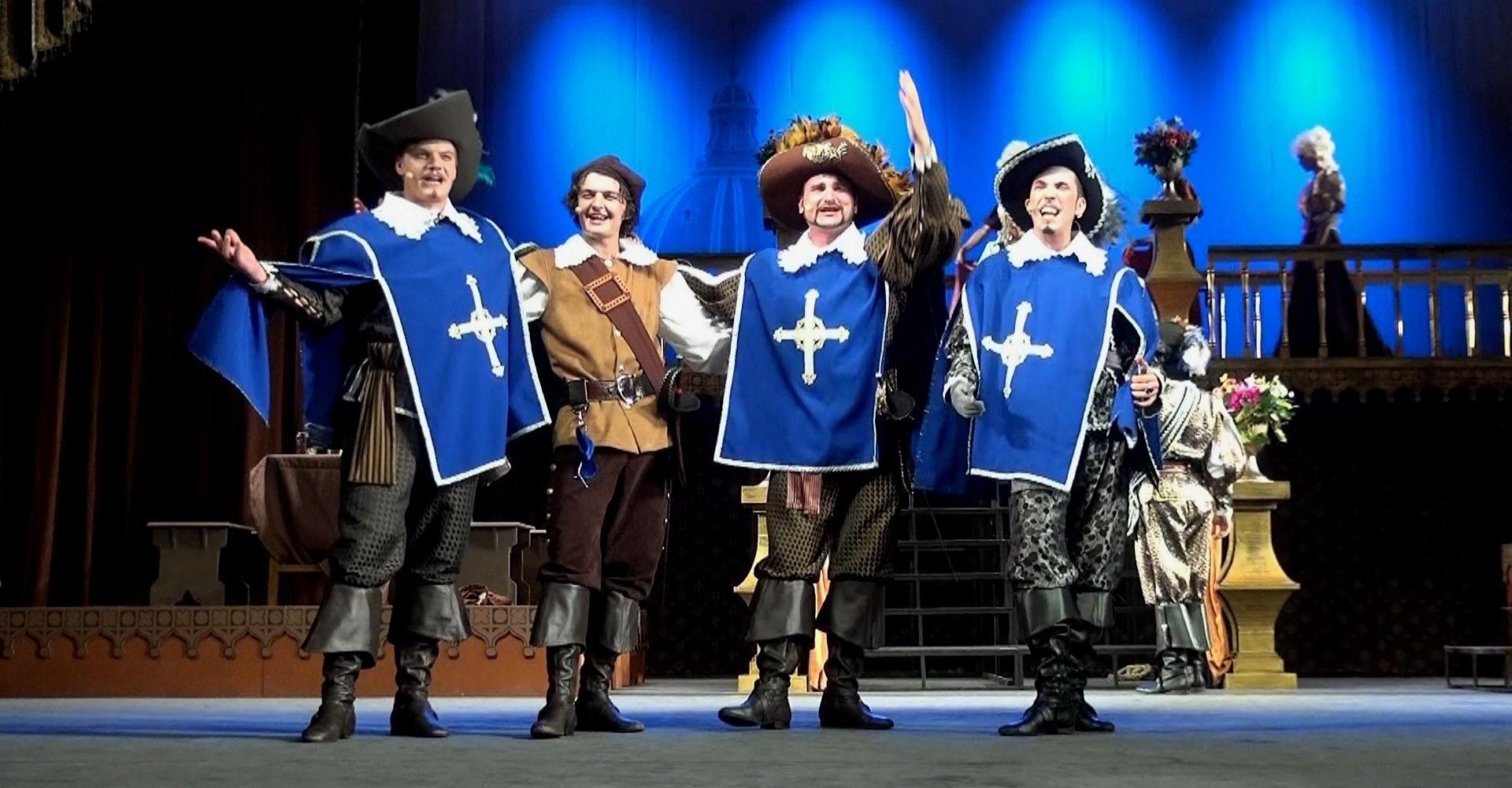 В столице Крыма состоится премьера мюзикла «Три мушкетера»