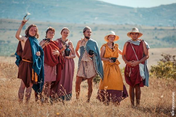 Состязания степняков на лошадях, византийский торг — новинки Крымского исторического фестиваля