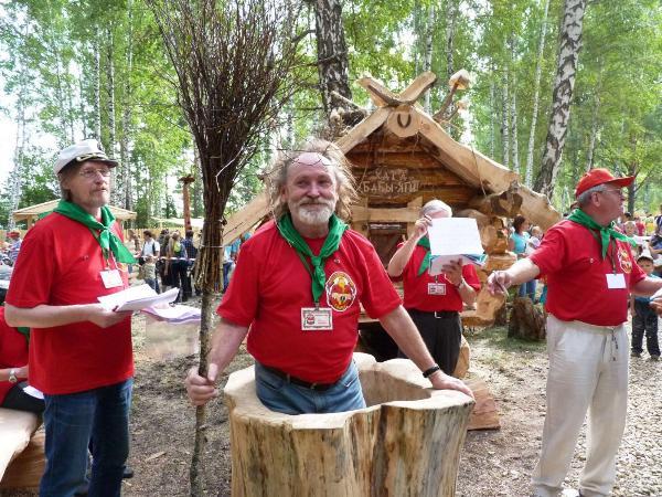 Фестиваль народных ремесел «Праздник топора» открылся под Томском
