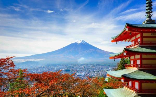 Рост турпотока из России в Японию составил почти 30 процентов