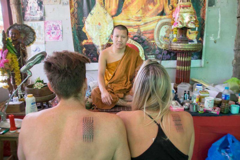 Татуировки Сак Янт — опыт нанесения в Чианг Мае