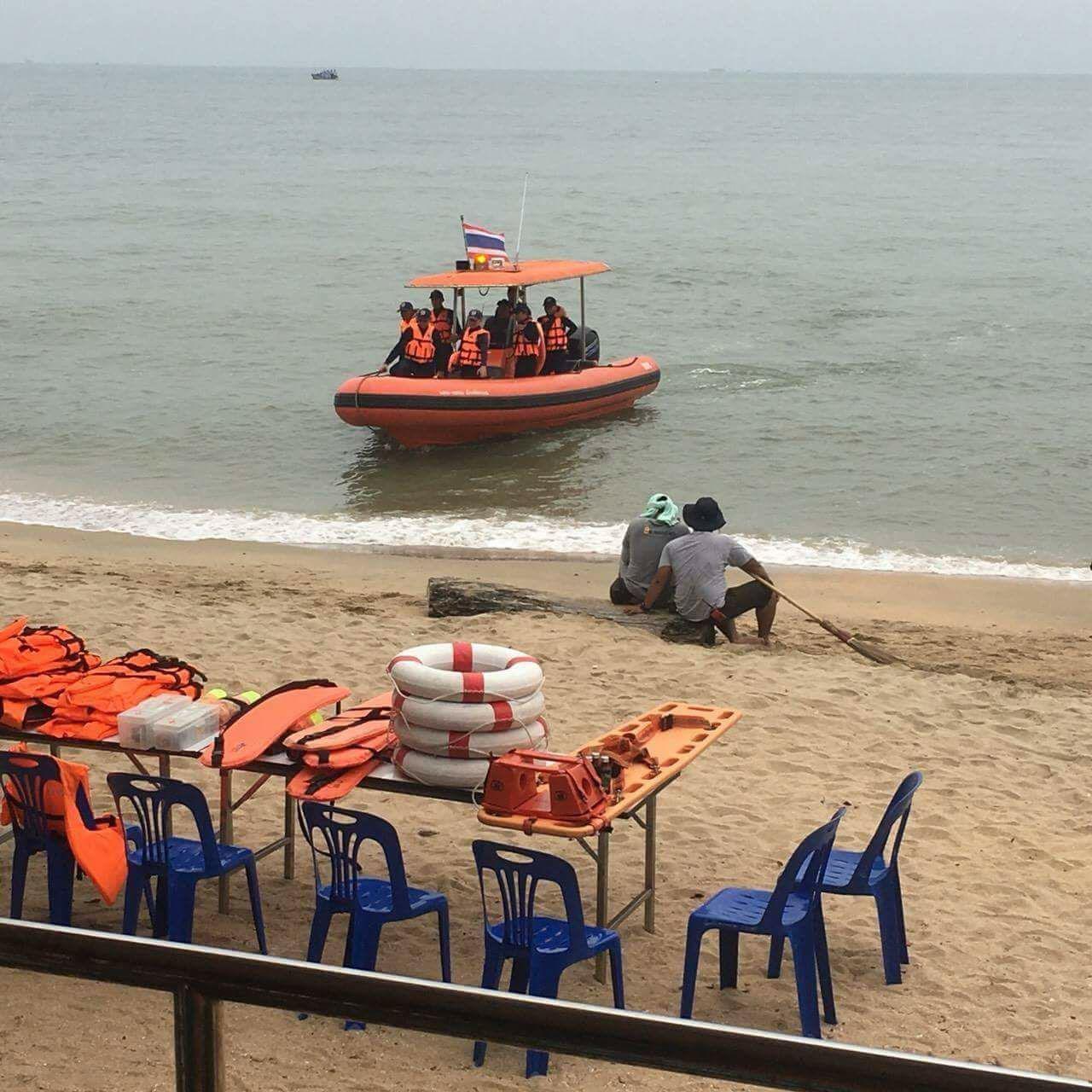 Желтые флаги на пляжах Паттайи — осторожно, «Бебинка» и медузы