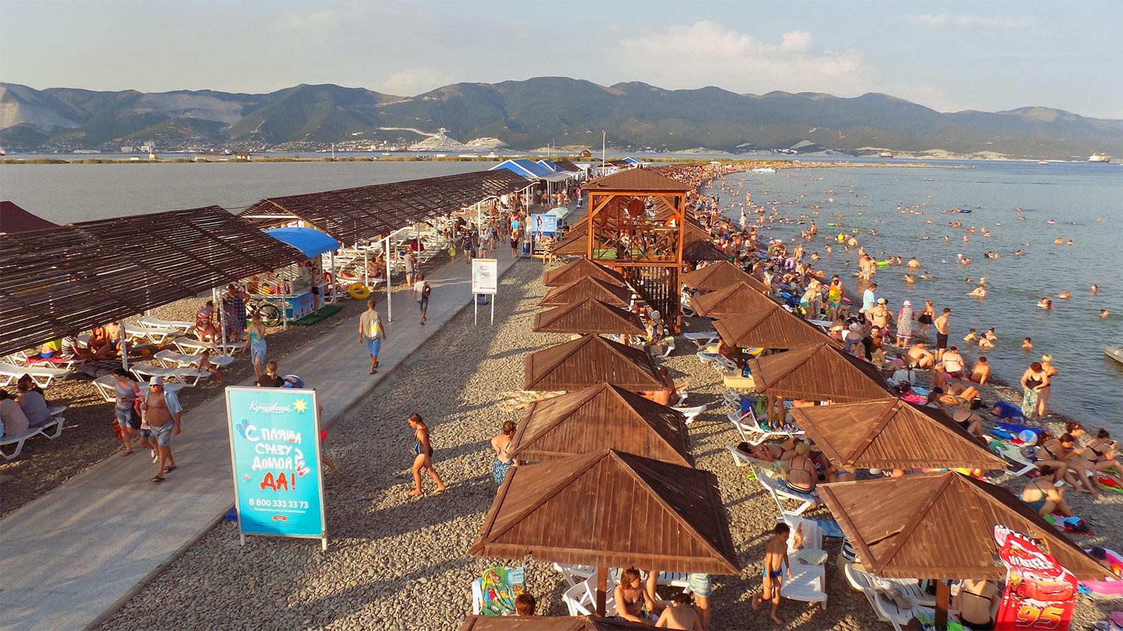 Все пляжи в Новороссийске