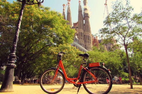 Барселона - в ТОП-10 западноевропейских городов для велосипедистов
