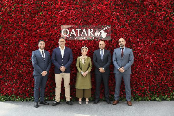 Qatar Airways празднует Перекрестный год в качестве генерального партнера ярмарки Cosmoscow