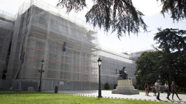 Фасад музея Прадо закроют строительные леса