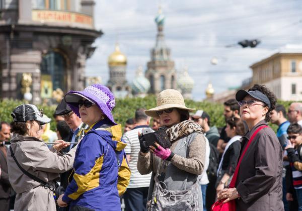 Число посетивших Россию туристов перевалит исторический рубеж в 2018 году