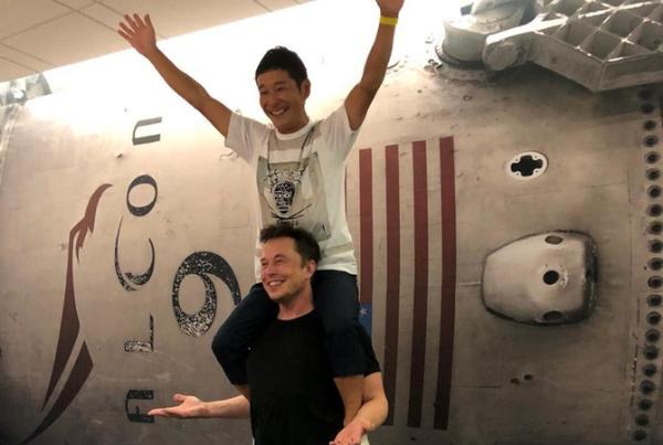 Первым космическим туристом SpaceX станет миллиардер из Японии Юсаку Маэдзава
