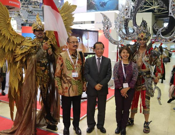 Wonderful Indonesia приняла активное участие в выставке Отдых 2018