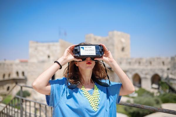 «Шаг в историю» – первый мобильный VR-тур в Израиле