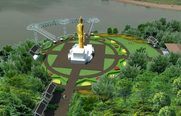 В Таиланде над рекой Меконг построят стеклянный мост