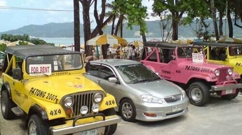 Как арендовать машину в Таиланде?