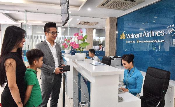 Vietnam Airlines открывает городские пункты регистрации на рейсы