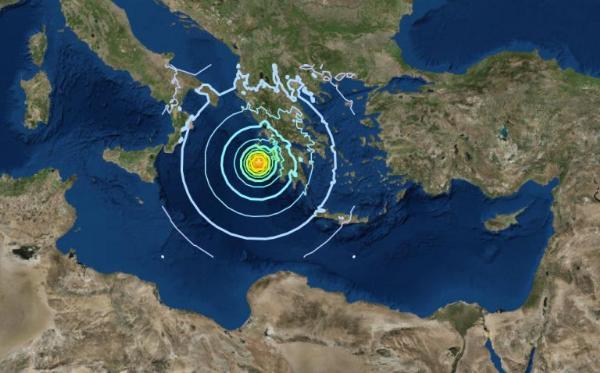Землетрясение разрушило монастырь на греческом острове Закинтос