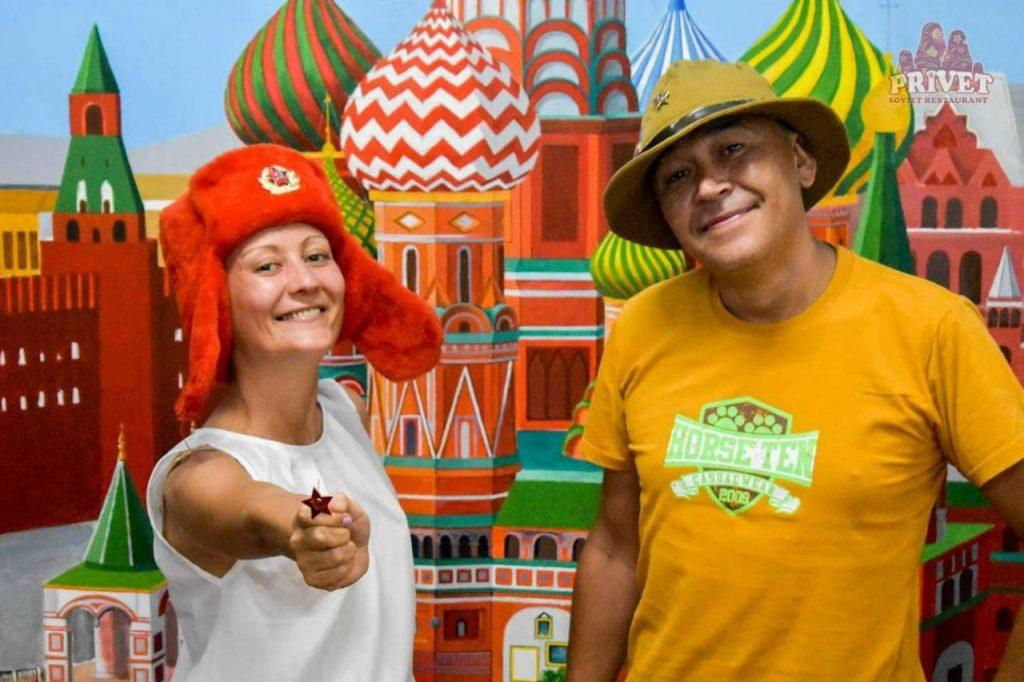 Где поесть русской еды в Лаосе — ресторан Привет во Вьентьяне