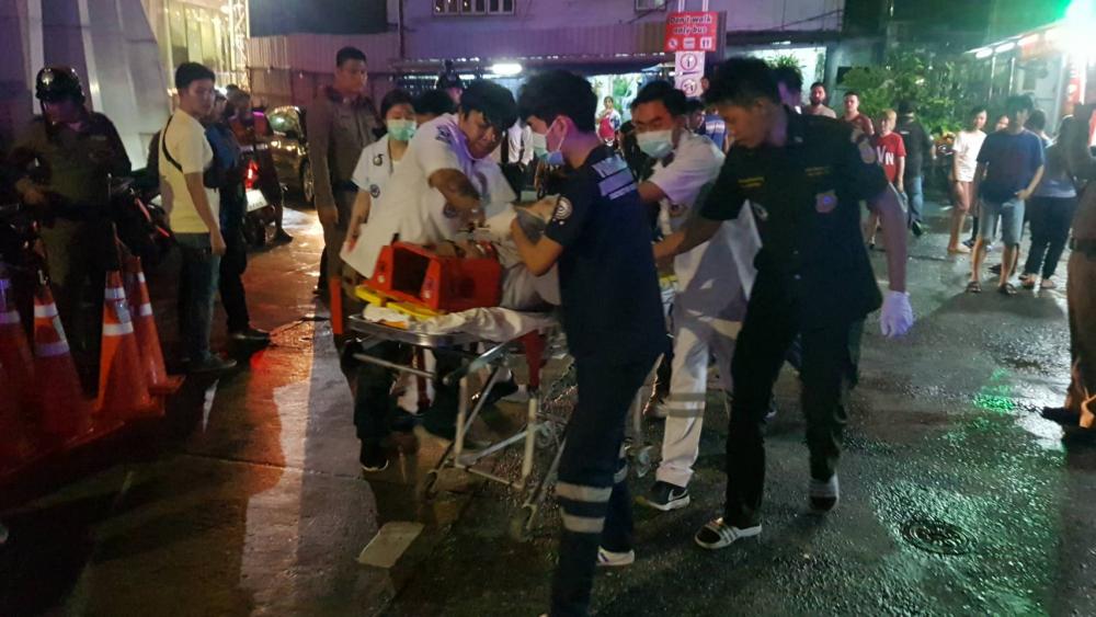 Иностранного туриста случайно застрелили во время вооружённого конфликта на улице в Бангкоке