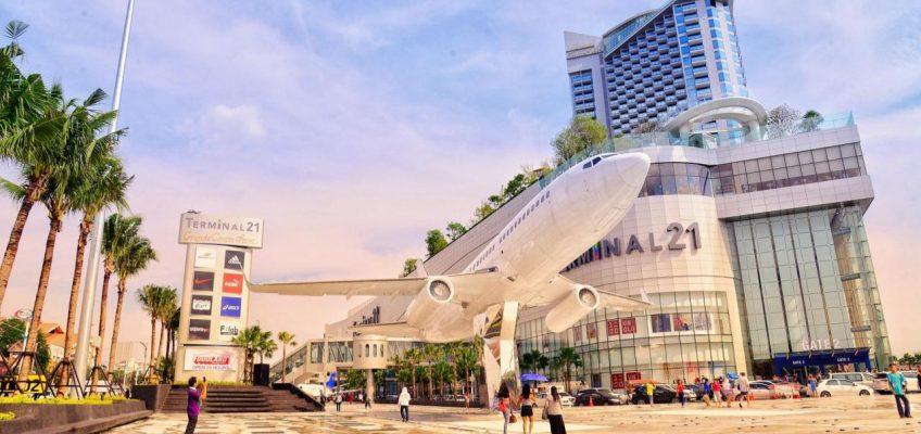 Терминал 21 в Паттайе — открытие нового торгового комплекса (ВИДЕО)