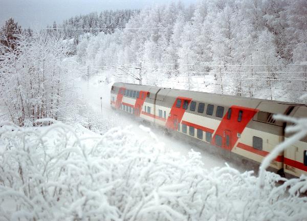 В новогодние каникулы ОАО «РЖД» назначит более 1200 дополнительных поездов дальнего следования