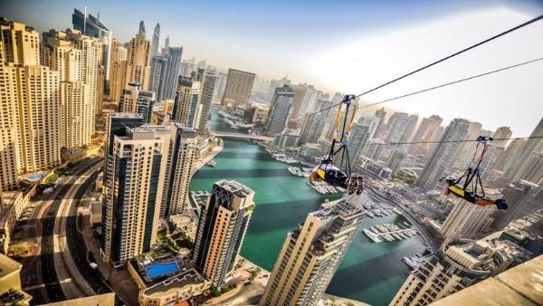 Два аттракциона из Дубая вошли в список самых экстремальных в мире