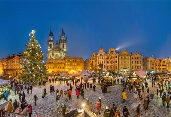 Рождественские базары на площадях Праги заработают 1 декабря