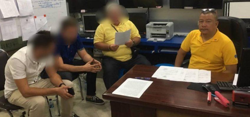 Двух россиян арестовали в Таиланде за угрозу взрыва консульства в Паттайе