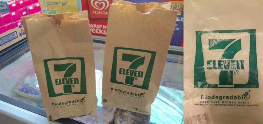 Магазины 7/11 в Таиланде отказались от пластиковых пакетов
