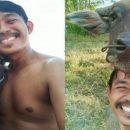 Счастливый фермер в Таиланде