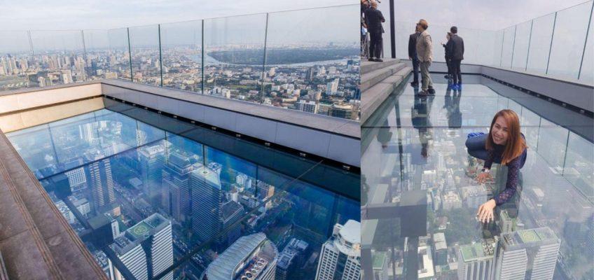 В Бангкоке открылся бар со стеклянным полом на 78 этаже (ВИДЕО)