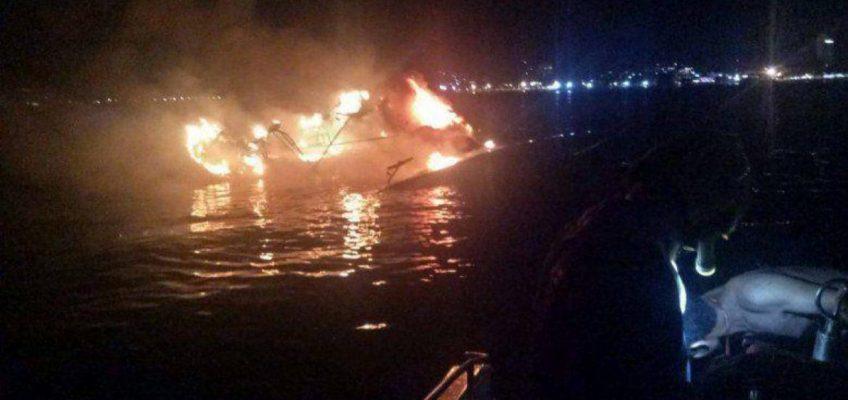 На Пхукете в Таиланде горят яхты, уже вторая в ноябре