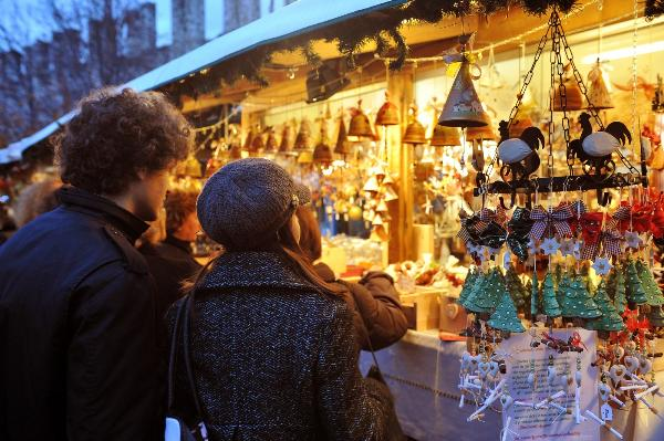 В Италии открылись рождественские базары