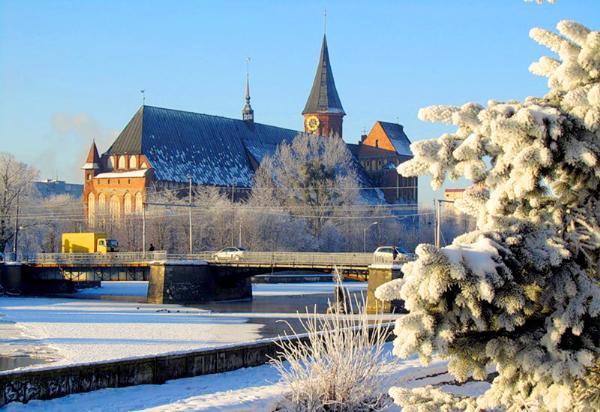 В Калининграде на новогодние праздники ждут до 40 тысяч туристов