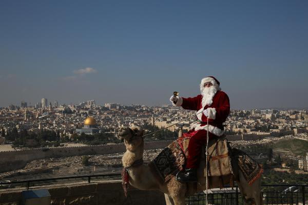 Рождество в Израиле празднуют с особым размахом