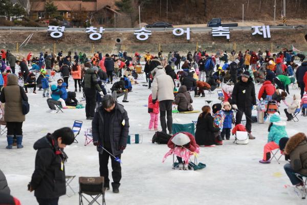 Фестиваль форели в Пхёнчхане пройдет с 22 декабря 2018 по 27 января 2019 года