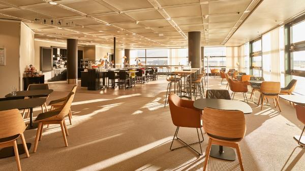 Lufthansa открывает еще один зал ожидания в аэропорту Франкфурта