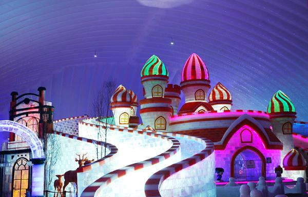 Ледяное чудо: в Харбине проходит Фестиваль снега и льда