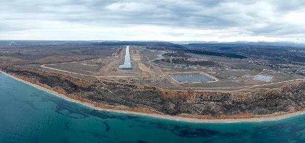 Аэродром «Бельбек» сможет принимать гражданские рейсы до появления аэровокзала
