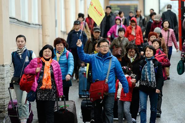 РФ входит в тройку самых популярных европейских направлений у туристов из КНР